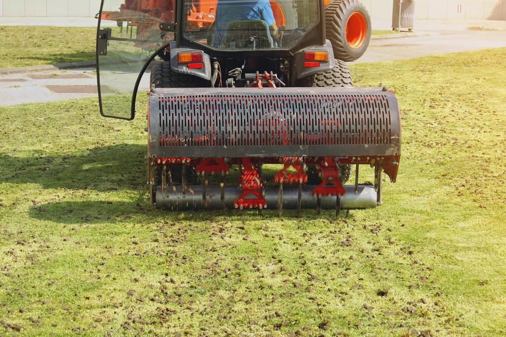 Aerate Soil Lawn